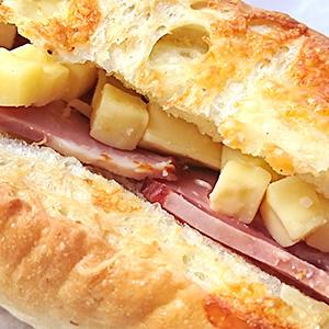 ベーコン&チーズアップ