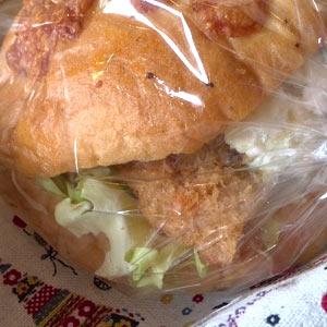 とんかつ&ポテトサラダサンド2